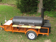 Cowboy Cooker BBQ Trailer