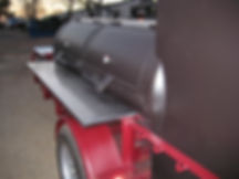250 gallon tank BBQ smoker