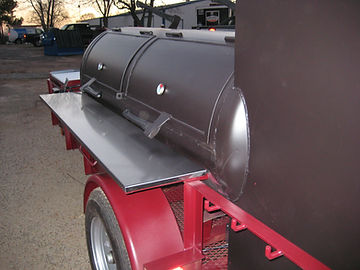 250 gallon tank BBQ smoker