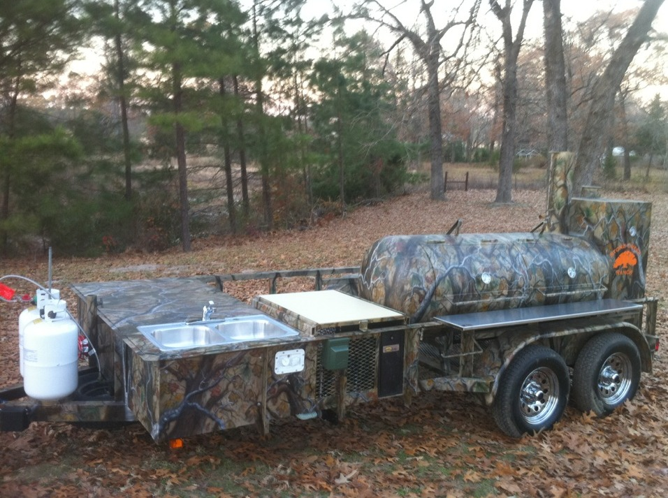 Outdoorsman Custom Smoker