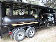 Clem's Cadillac BBQ Trailer