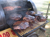 BBQ Brisket at tailgating event