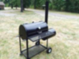 backyard smoker unit