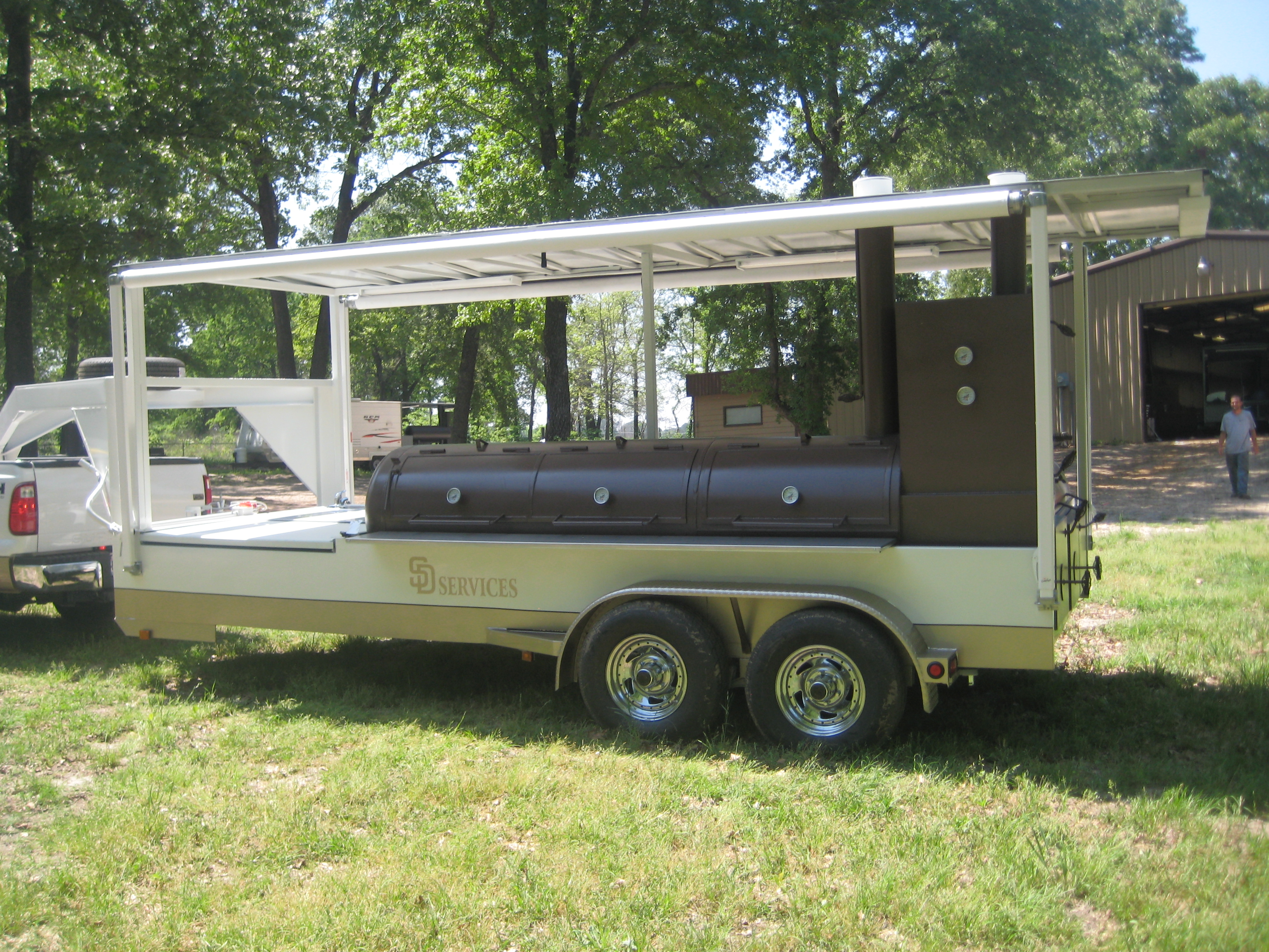 PowerSmoke Custom Smoker Trailer