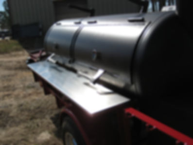 BBQ Trailer with temperature control