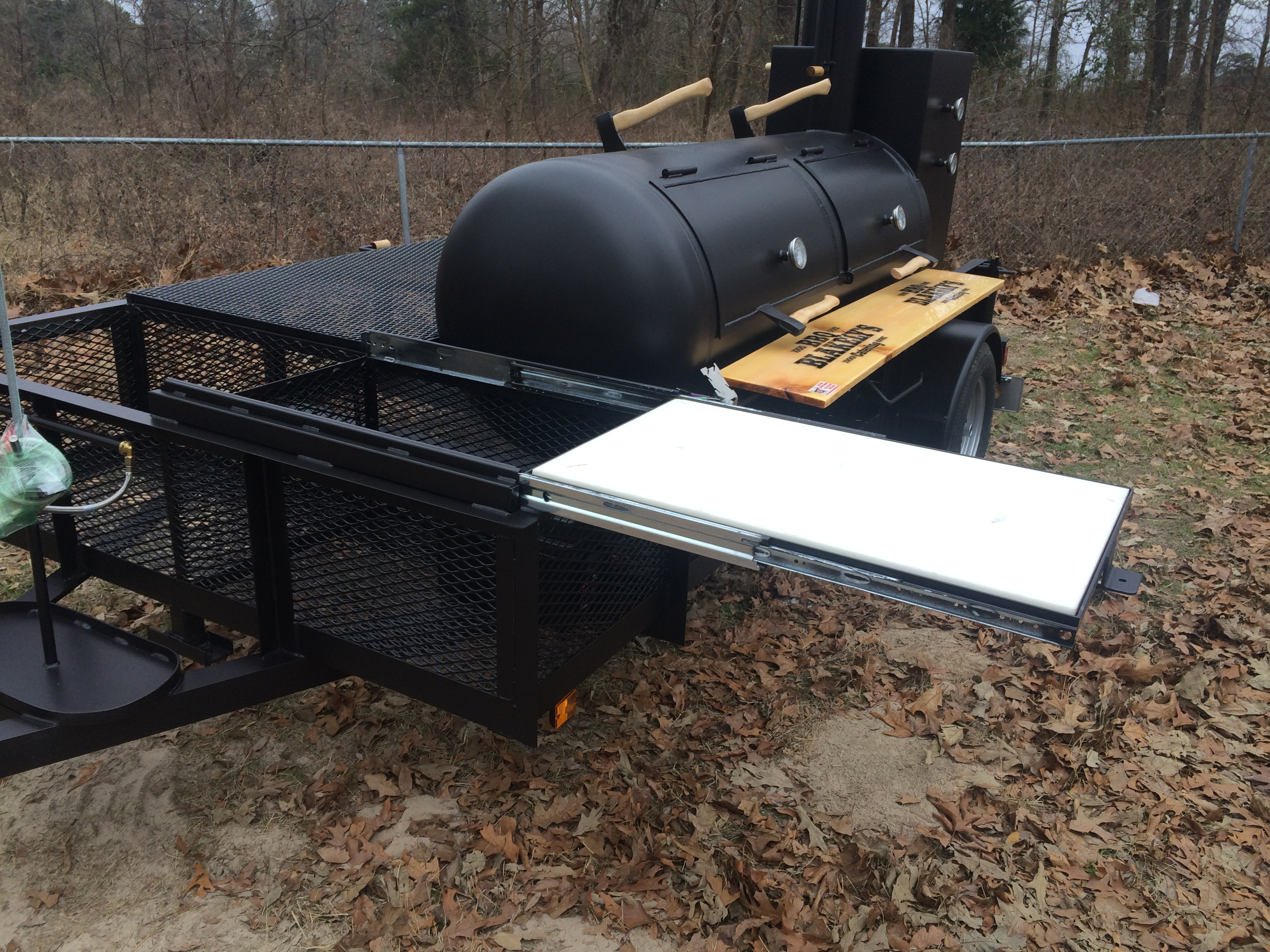 Caterer Edition BBQ Smoker Trailer