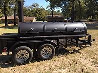 RK350 BBQ Trailer