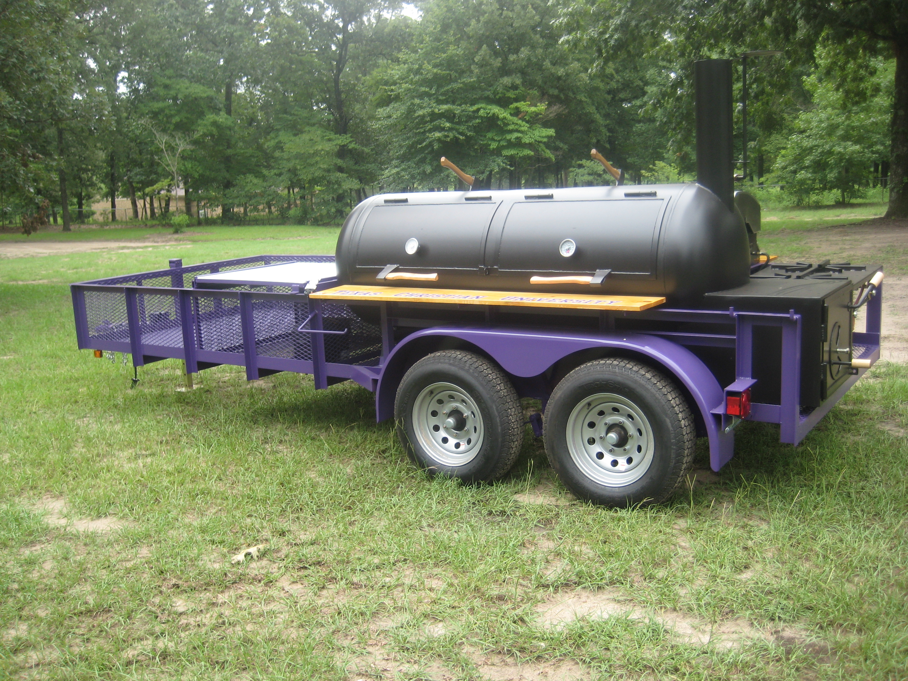 Custom Smoker trailer