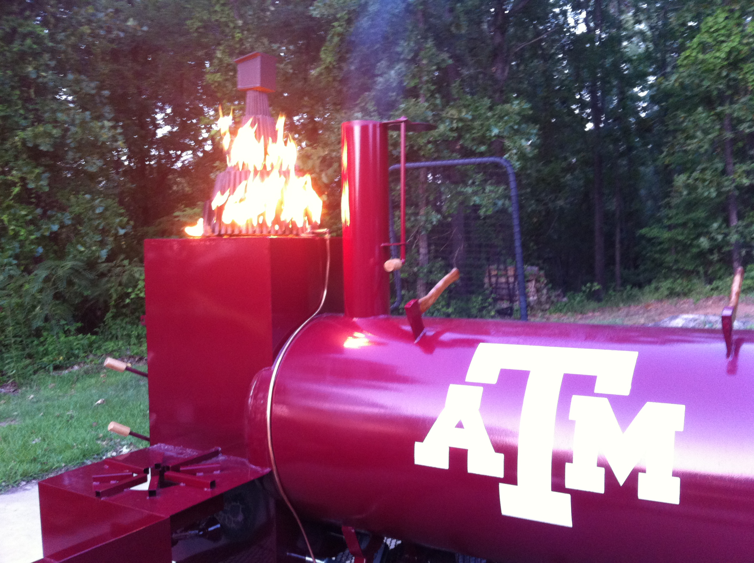 Aggie Bonfire Smoker Trailer