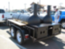 Double BBQ Pit Trailer