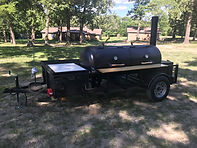 Competition Contender BBQ Trailer