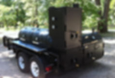 250 gallon BBQ Trailer for catering