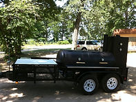 Caterer Edition BBQ Trailer