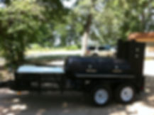 Custom Catering BBQ Trailer