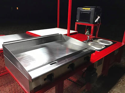 Commercial Propane Griddle