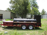 Texas Tech BBQ Trailer
