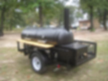 Customizable BBQ Trailer