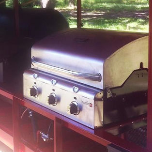Stainless Steel LP Grill