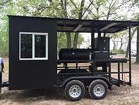 Texas Cook Shack BBQ Trailer