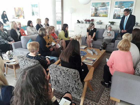 LICC meets Women business Association together with the Embassy of Israel