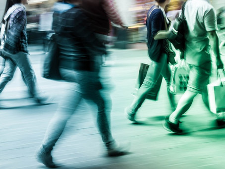 'Tech even more vital' as footfall at record lows