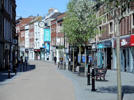 Footfall improves in May, but still down over 70%