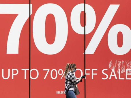 Shop Prices Fall At Fastest Rate In 14 Years