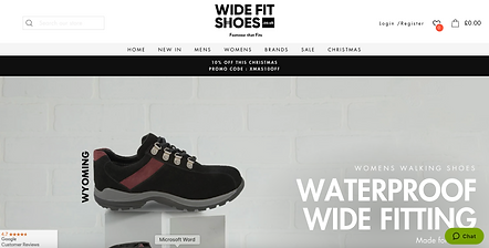Wide Fit Shoes Magento2