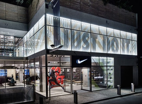 Further online gains make Nike consider store strategy