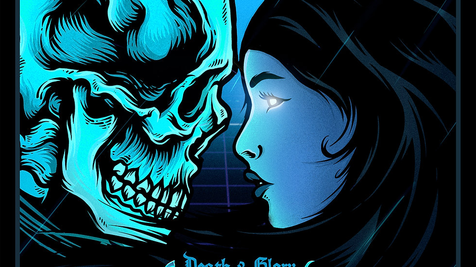 Lazerpunk: Death & Glory Black & Blue Standard Edition Vinyl
