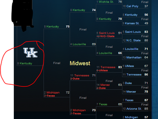 Gary The Numbers Guy Picks Kentucky To Go To The Final Four