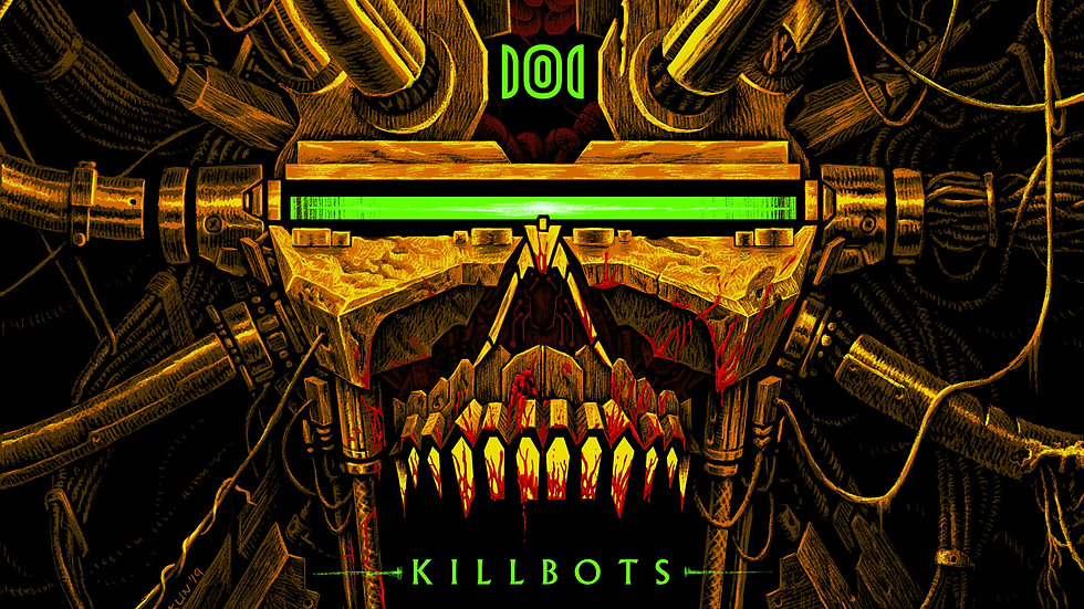 Protector 101: KILLBOTS Neon Green Vinyl TEST PRESS BUNDLE