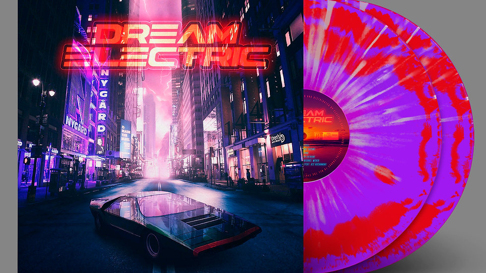 Dream Electric 2LP Compilation: Standard Splatter Edition
