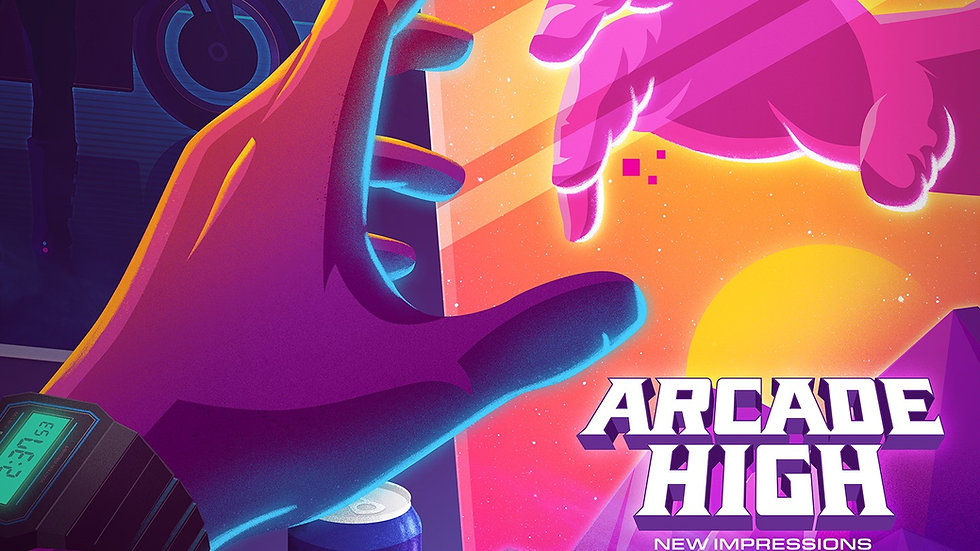 Arcade High: New Impressions TEST PRESS Bundle