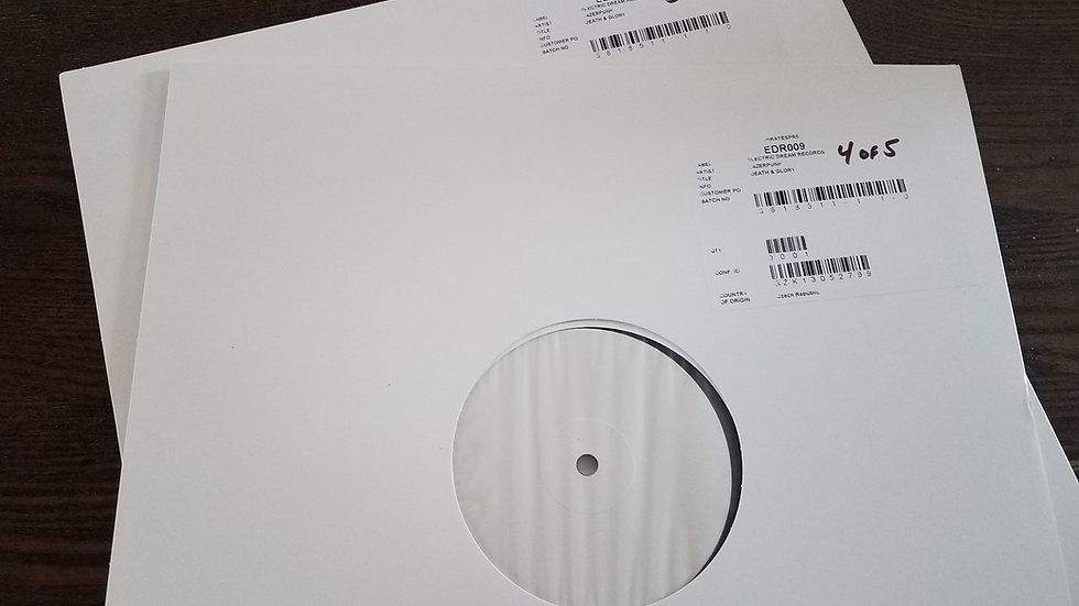 Lazerpunk DEATH & GLORY Test Pressing