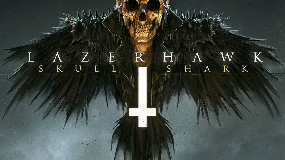 Lazerhawk: Skull and Shark Test Press Bundle (Very Limited)