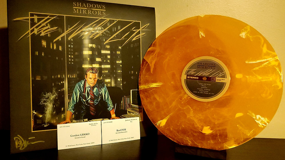 Shadows and Mirrors: Cocaine Screwdriver Limited Edition (Signed)