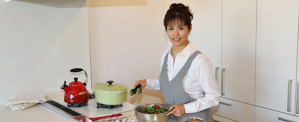 ヘルシー料理家 中元千鶴 公式サイト