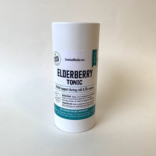 Elderberry Tonic Tea - Canister, makes approx. 20 cups