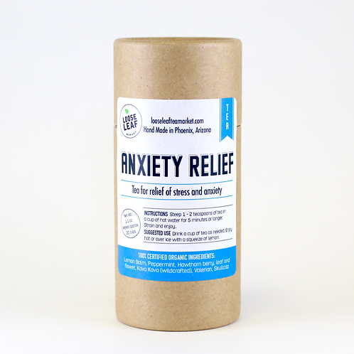 Anxiety Relief - Canister, makes approx. 20 cups