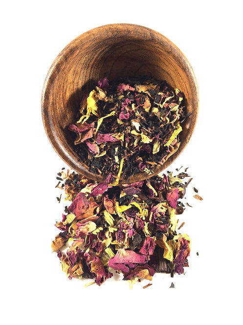 Cherry Bomb Black Tea - Canister, makes approx. 20 cups