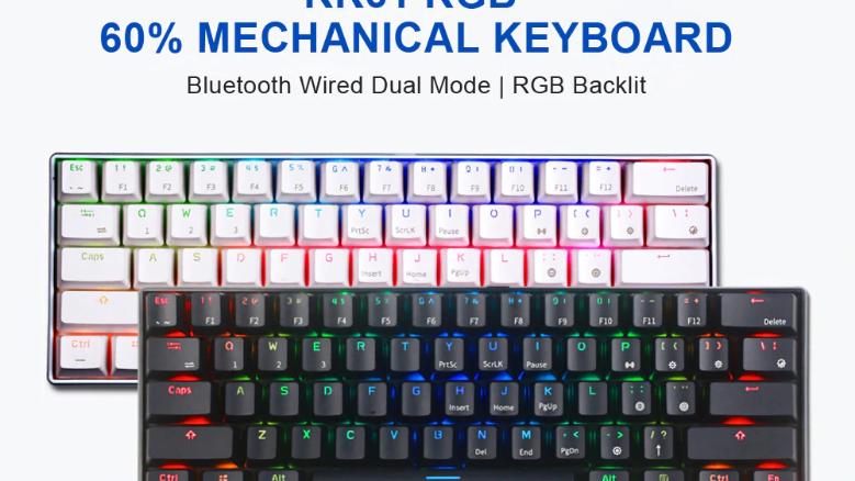 RK61 Mini wireless mechanical keyboard