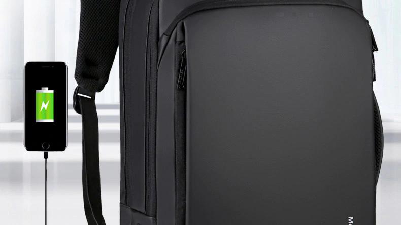 BP035 Premium leather backpack