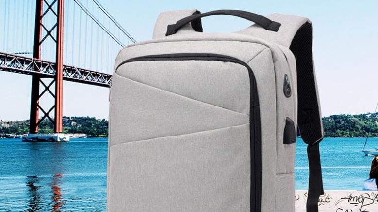 BP009 Slick casual business backpack