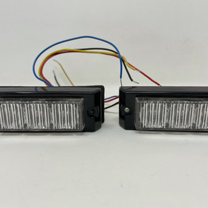 Red/Blue micro led lightheads