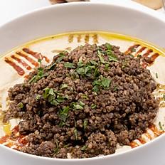 Hummus mit Fleisch