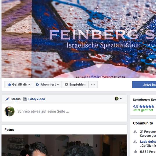 Feinberg´s bei Facebook
