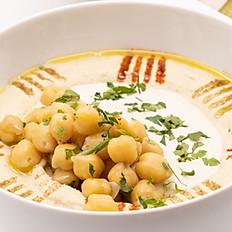 Hummus with tahini and chickpeas  (small)