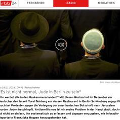 Es ist nicht normal, Jude in Berlin z