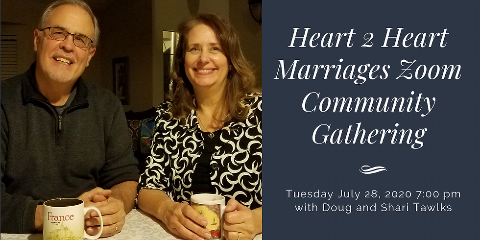 Heart 2 Heart Marriages Zoom Community Gathering